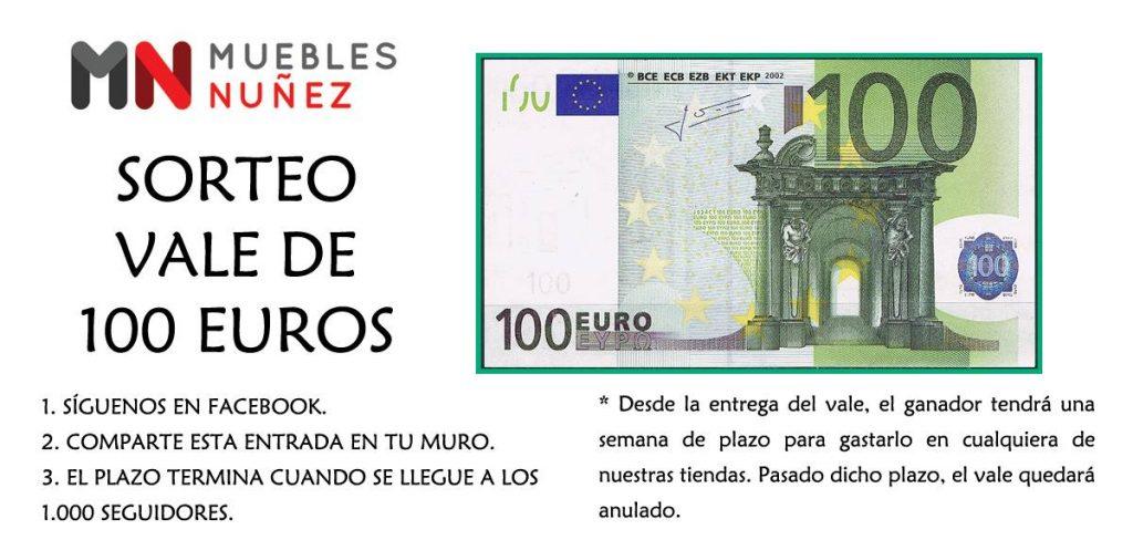 Ya hay ganador del cheque de 100 €
