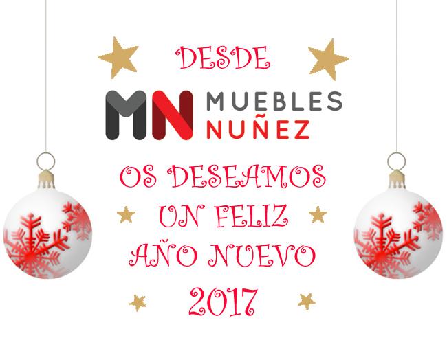 Feliz año nuevo desde Muebles Núñez