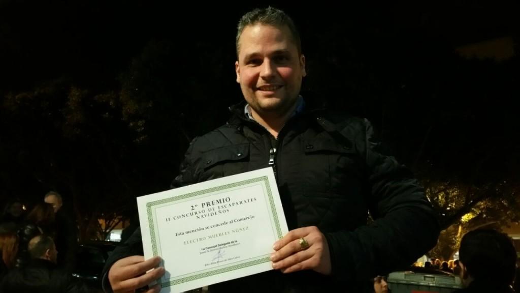 Segundo puesto en el Concurso de Escaparatismo ACEA