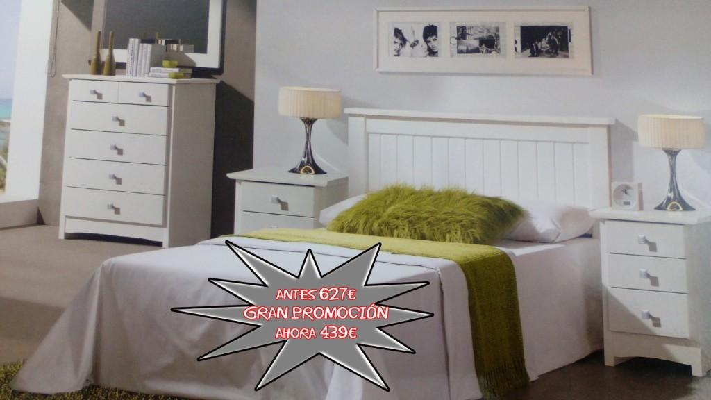 Promoción en conjunto de dormitorio